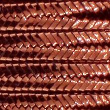 Soutache Braid Metallic Bronze - 5 Metres